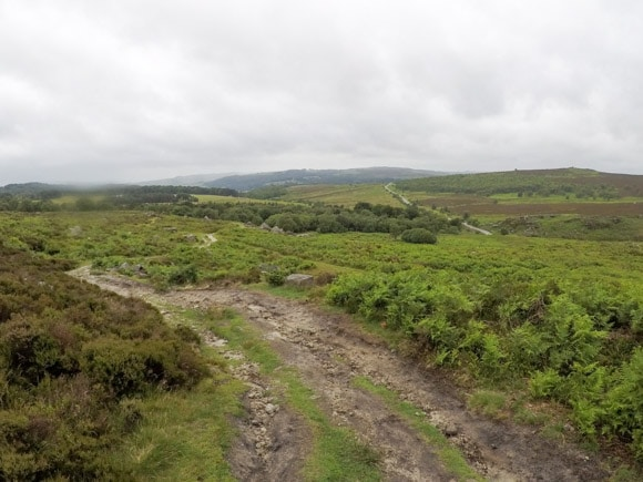 Path to Hathersage Road
