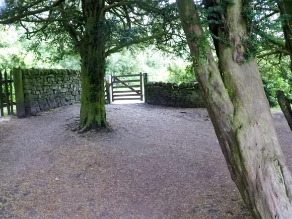 Second gate at Longshaw Estate