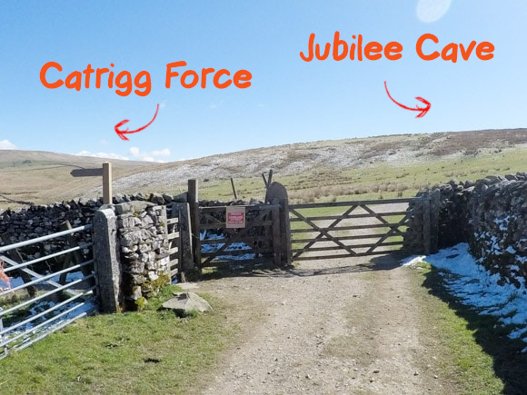 Catrigg Force and Jubilee Cave
