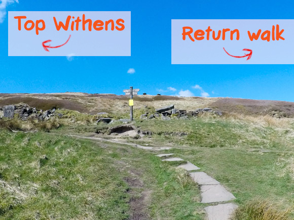 Top Withens and Return to Haworth