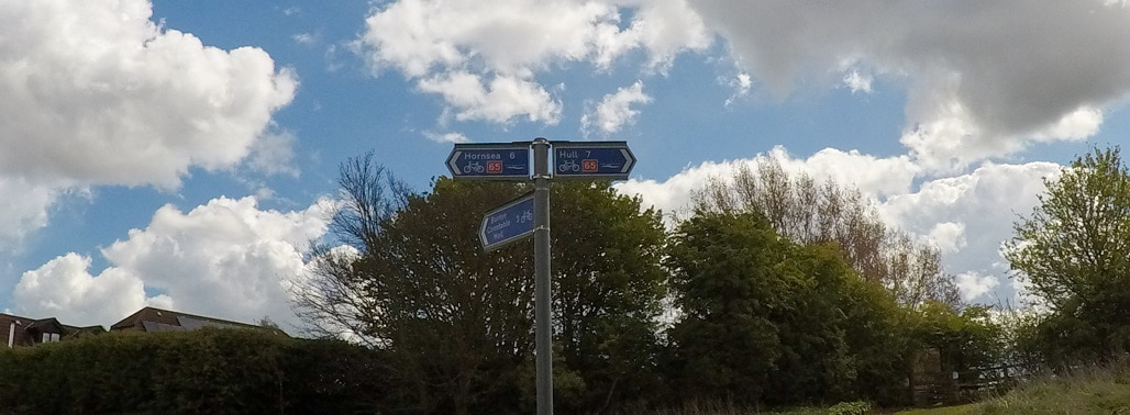 Hull to Hornsea Walk or Cycle featured image