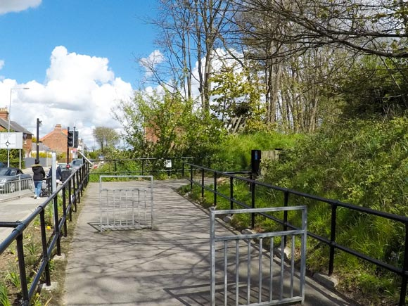 Hull to Hornsea walk or cycle 16