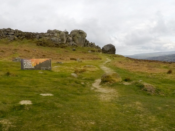 Ilkley Moor Cow and Calf and the Twelve Apostles 2