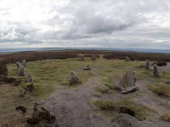 Ilkley Moor Cow and Calf and the Twelve Apostles 32