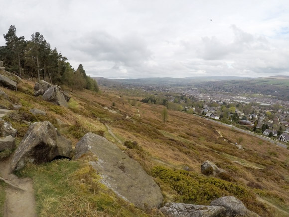Ilkley Moor Cow and Calf and the Twelve Apostles 8